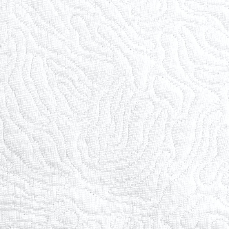 Matouk Costa King Coverlet 112 x 97 White